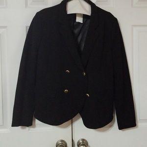 Black Versona Size 16 Blazer